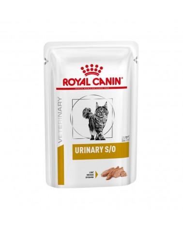 Royal Canin Veterinary Gatti Urinary S/O umido con Patè di Pollo 85 Gr