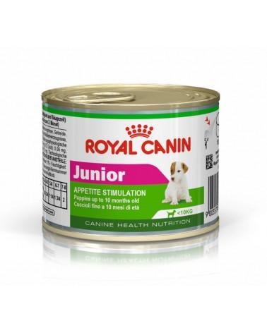 Royal Canin Cani Junior Stimolazione dell'appetito umido con Mousse di Pollo 195 Gr