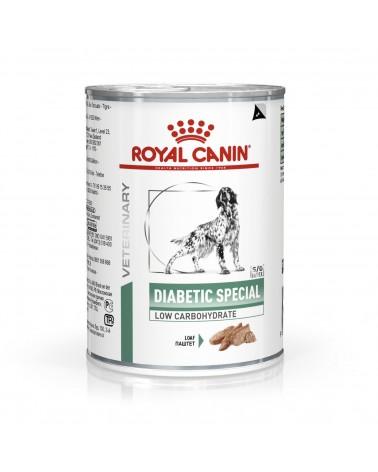 Royal Canin Veterinary Cani Diabetic umido con Patè di Pollo 410 Gr