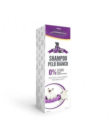 Retinol Complex Shampoo Cani e gatti con Pelo Bianco 200 Ml