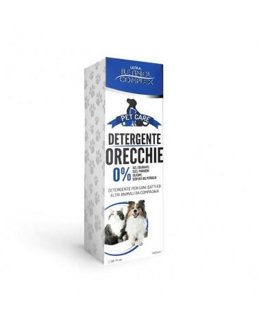 Retinol Complex Detergente orecchie per cane e gatto 100 Ml