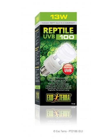 Lampada UVB100 per terrario tropicale Exo Terra