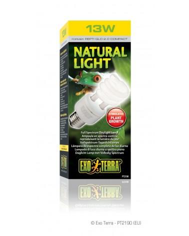 Lampada Natural Light per terrario Stimolante piante Exo Terra