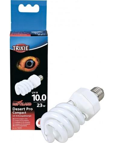 Lampada Desert Pro Compact UVB 23 Watt Trixie per terrario