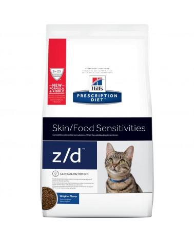 Hill's Prescription Diet Gatti Allergia e Cura della cute Z/D crocchette al Pollo 2 Kg
