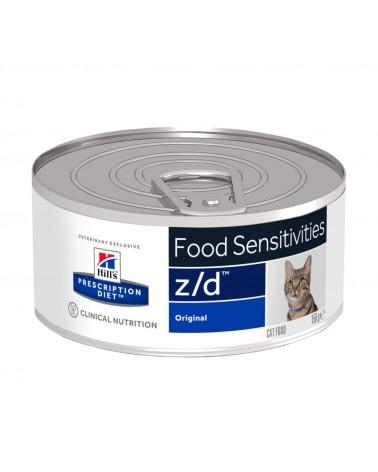 Hill's Prescription Diet Gatti Allergia e Cura della cute Z/D umido al Pollo 156 Gr