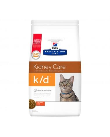 Hill's Prescription Diet Kidney Care k/d Crocchette per Gatti con Pollo
