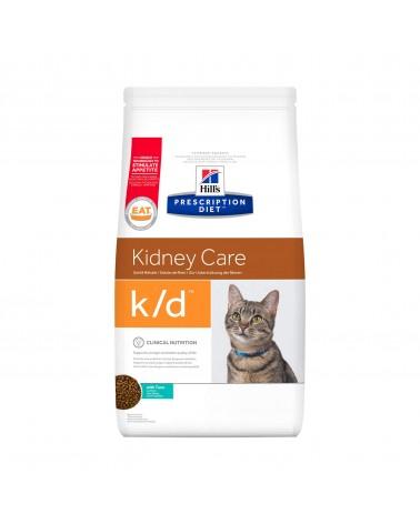 Hill's Prescription Diet Kidney Care k/d Crocchette per Gatti con Tonno