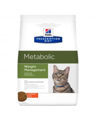Hill's Prescription Diet Metabolic Crocchette per Gatti con Pollo