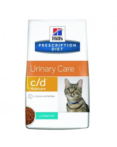 Hill's Prescription Diet Urinary Care c/d Multicare Crocchette per Gatti con Pesce Oceanico 1,5 Kg