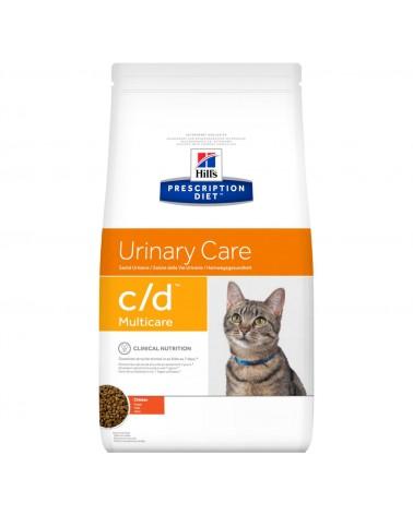 Hill's Prescription Diet Urinary Care c/d Multicare Crocchette per Gatti con Pollo 400 Gr