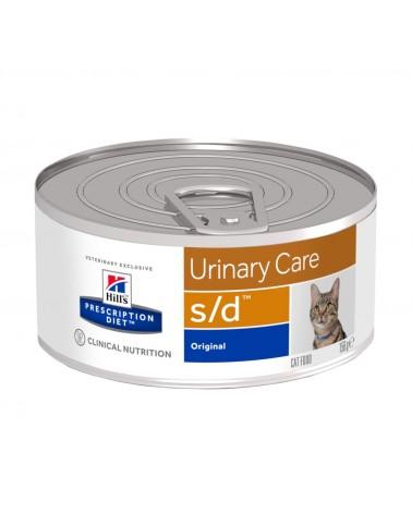 Hill's Prescription Diet Urinary Care s/d Alimento per Gatti 156 Gr