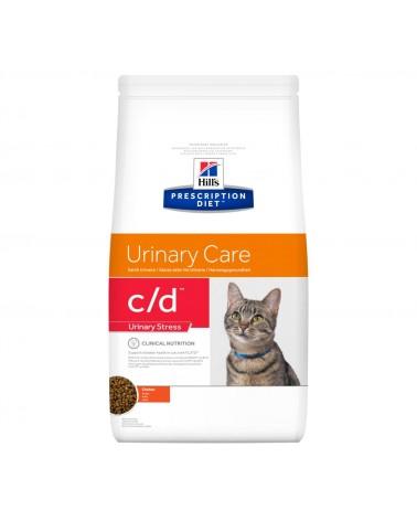Hill's Prescription Diet Urinary Care c/d Multicare Stress Crocchette per Gatti con Pollo