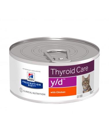 Hill's Prescription Diet Thyroid Care y/d Spezzatino per Gatti al Pollo 156 Gr