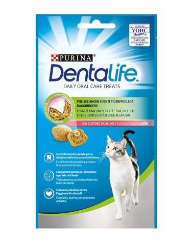 Dentalife Snack Gatti al Salmone 40 Gr