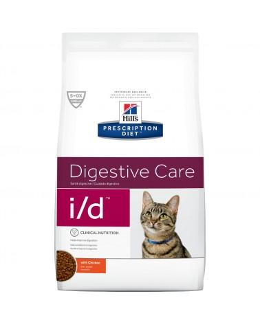 Hill's Prescription Diet Digestive Care i/d Crocchette per Gatti al Pollo 1,5 Kg