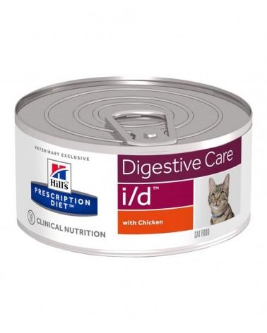 Hill's Prescription Diet Digestive Care i/d Alimento per Gatti con Pollo 82 Gr