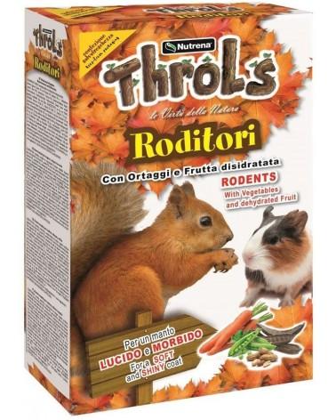 Throls con ortaggi e frutta disidratata per roditori 1 Kg
