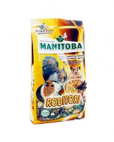 Manitoba Mix semi con frutta e vitamine per roditori 1 Kg