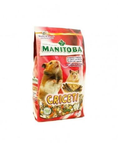 Manitoba Mix semi con frutta e vitamine per criceti 1 Kg