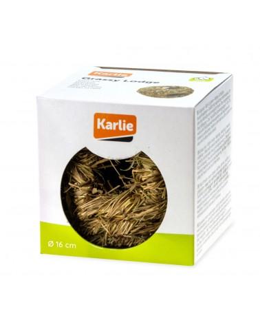 Karlie Nido d'erba per uccelli diametro 16 cm