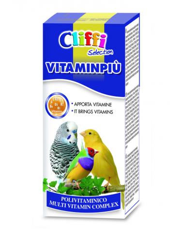 Cliffi Vitaminpiù Complesso vitaminico completo per uccelli 25 Gr