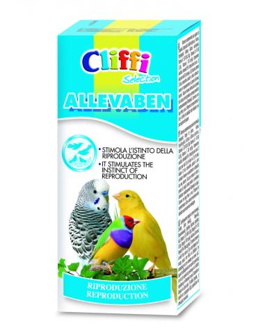 Cliffi Allevaben stimolante per la riproduzione degli uccelli 25 Gr