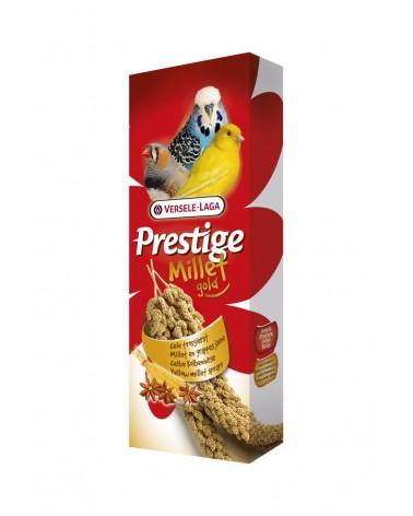 Prestige Millet Gold Spighe di panico giallo 100 Gr