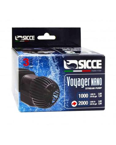 Pompa di movimento Sicce Voyager Nano 2000 per Acquari