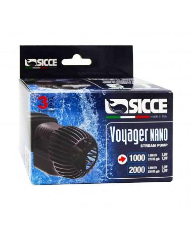 Pompa di movimento Sicce Voyager Nano 1000 per Acquari