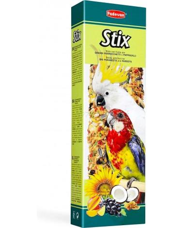 Padovan Stix Snack con frutta per grandi parrocchetti e pappagalli