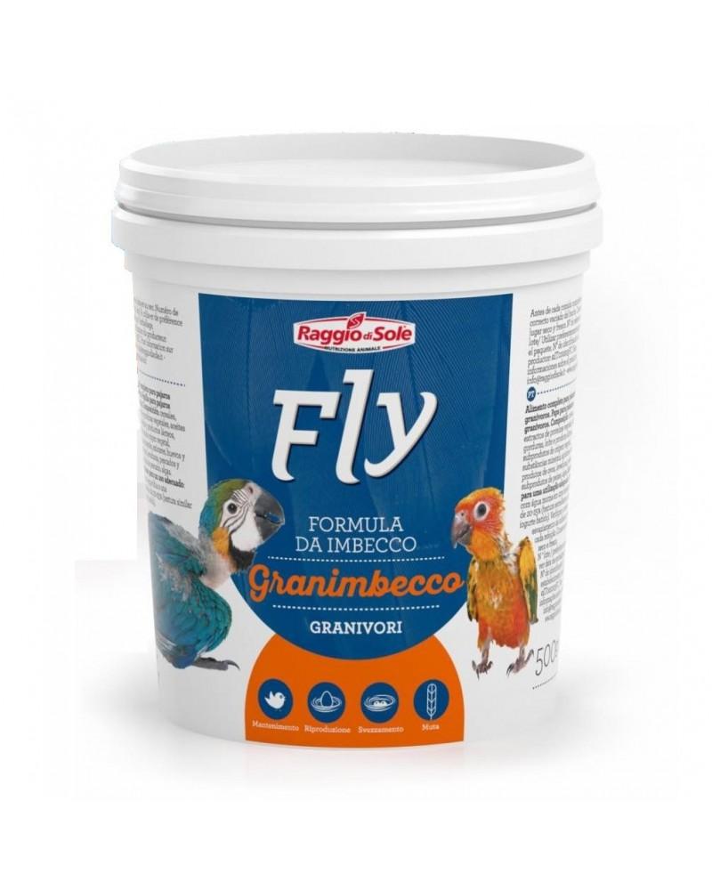 Fly Granimbecco Formula da imbecco per Granivori 500 Gr