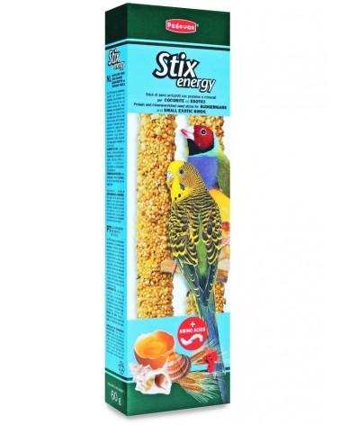 Padovan Stix Energy con uova per cocorite ed uccellini esotici