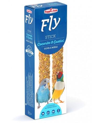 Fly Stick Uova e miele per Cocorite e esotici