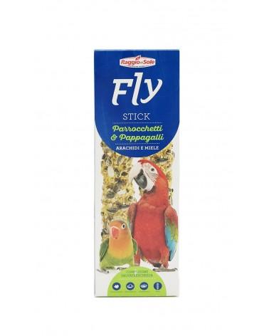 Fly Stick Arachidi e miele per Parrocchetti e pappagalli