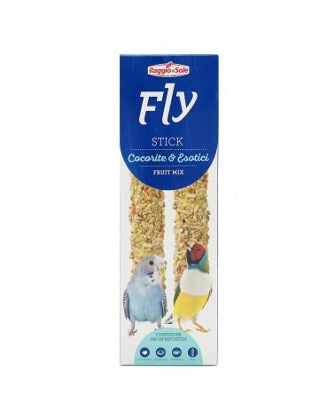 Fly Stick Fruit Mix per Cocorite e esotici