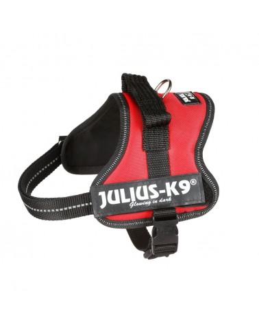Julius K-9 Powerharness Pettorina Mini-mini rosso