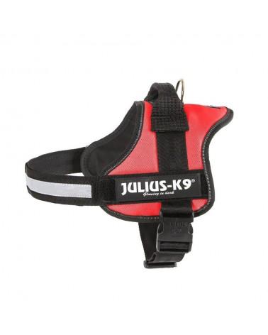 Julius K-9 Powerharness Pettorina M-L rosso