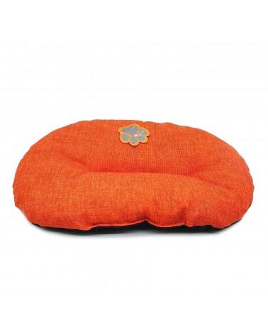 Cuscino Gioia ovale arancio 43 cm