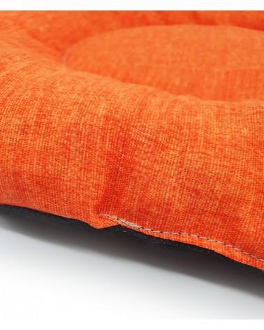 Cuscino Gioia ovale arancio 56 cm
