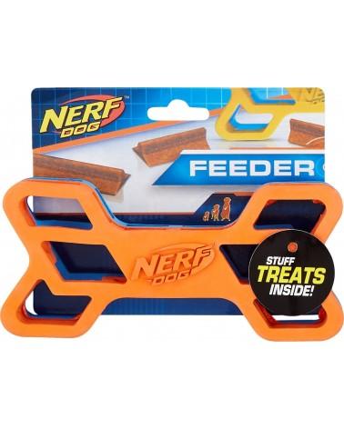 Nerf Dog Osso Feeder M/L in gomma con sorpresa