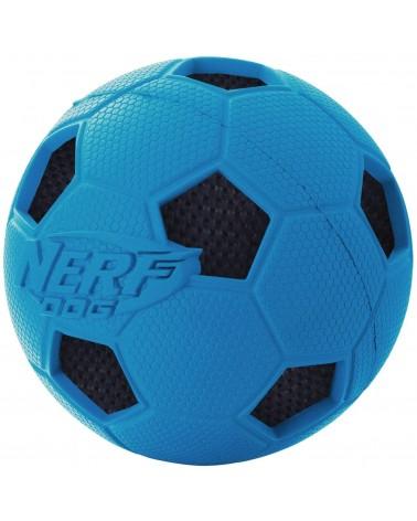 Nerf Dog Crunchable Palla da calcio con squittio e suono di plastica M