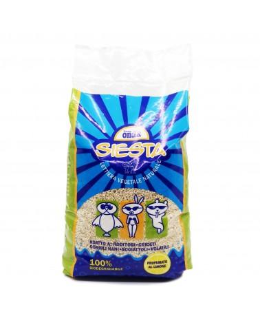 Siesta Lettiera vegetale naturale a limone 10 Litri
