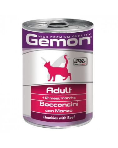 Gemon Gatto Adult umido con Manzo 415 Gr