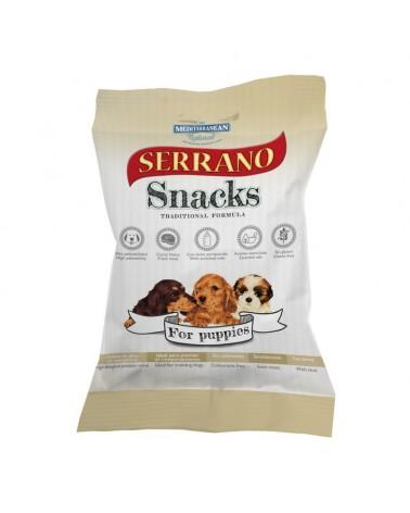Snack Serrano Puppy Traditional formula con Prosciutto e Pollo 100 Gr