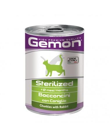 Gemon Gatto Adult Sterilized umido con Coniglio 415 Gr