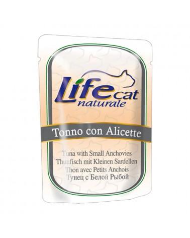 Life Cat Tonno con Alicette Umido 70 Gr