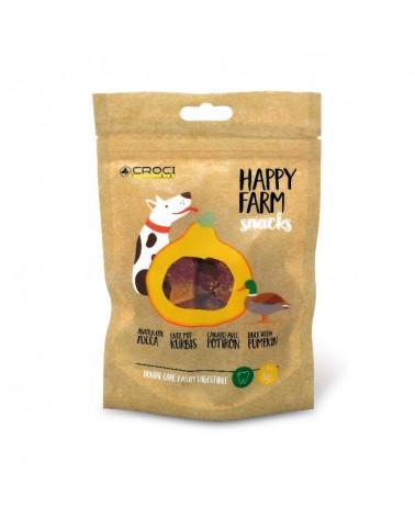 Snack Croci Happy Farm Anatra con Zucca 80 Gr