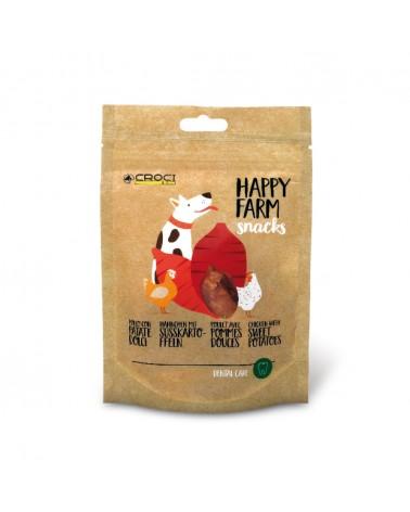 Snack Croci Happy Farm Pollo con patate dolci 80 Gr