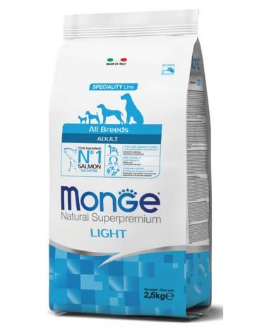 Monge All Breeds Adult Light Salmone e Riso 2,5 kg